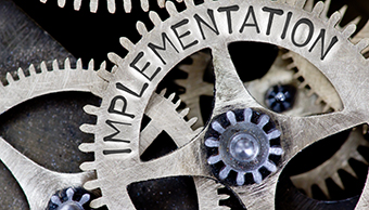 Implementing a financial plan