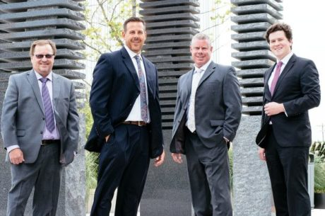 Global Wealth Advisors photo of Ben Murphy, Kris Maksimovich, Dean Elliott and Kevin M. Curley, II