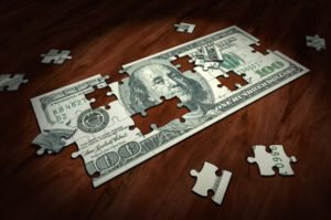 Cost benefits of financial planning shows dollar puzzle