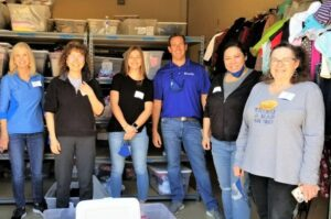Global Wealth Advisors Volunteering with Jonathan's Place